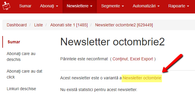 confirmare newsletter parinte