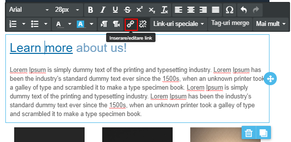 inserare-editare-link