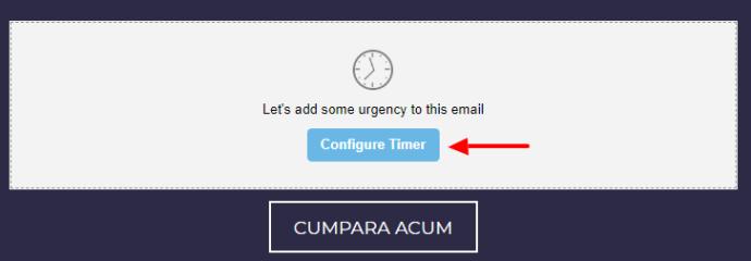 Configurare timer