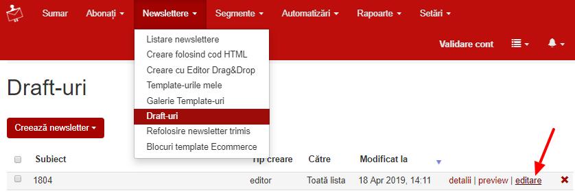 newslettere-drafturi-editare